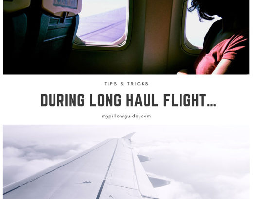 During Long Haul Flight