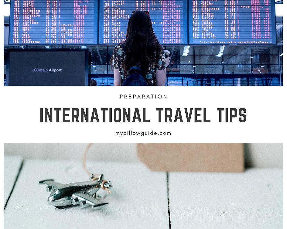 International travel tips: Preparation…