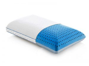 The Malouf's Carbon Cool Omniphase Pillow