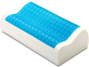 The PharMeDoc Contour Memory Foam Pillow