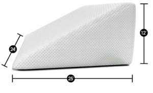 wedge pillow dimensions